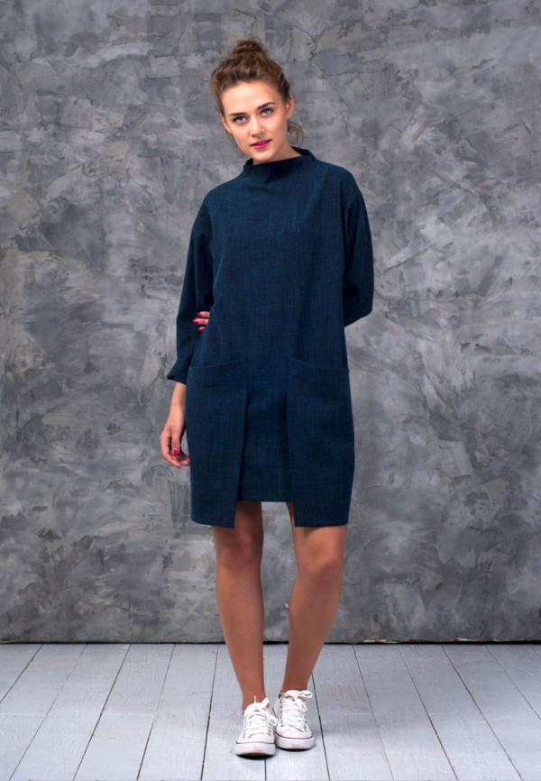 Dress-dark-blue-2-pockets-1