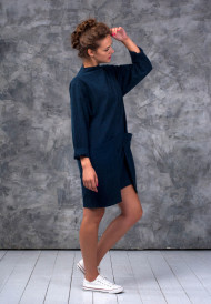 Dress-dark-blue-2-pockets-3