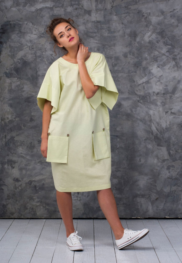 Dress-green-with-pockets-1