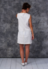 Dress-white-with-pocket-bag-3