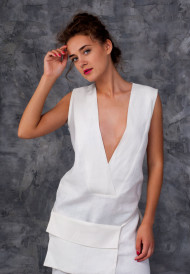 Dress-white-with-pocket-bag-4