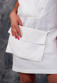 Dress-white-with-pocket-bag-6