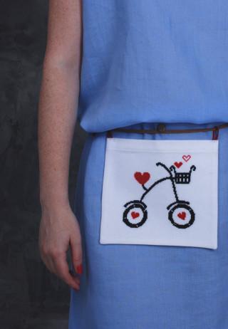 Съемный карман-сумка Bike Love
