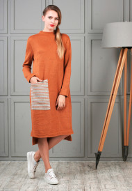 dress-orange-pocket-3