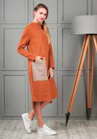 dress-orange-pocket-4