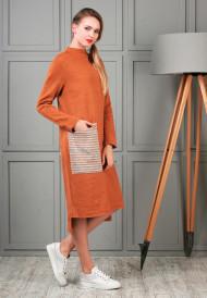 dress-orange-pocket-4