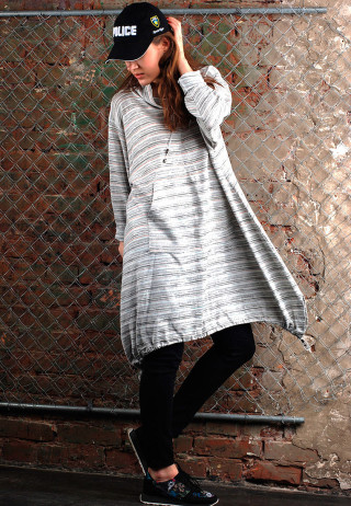 туника-платье кенгуру