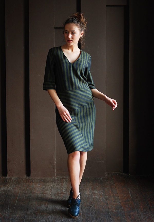 Dress-green-stripes-1