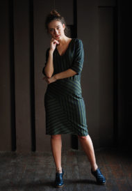 Dress-green-stripes-2