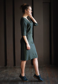 Dress-green-stripes-3