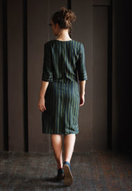 Dress-green-stripes-4
