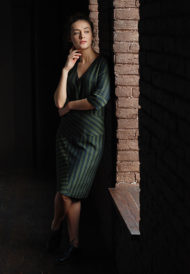 Dress-green-stripes-5