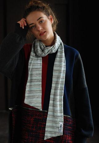 шарф трикотажный
