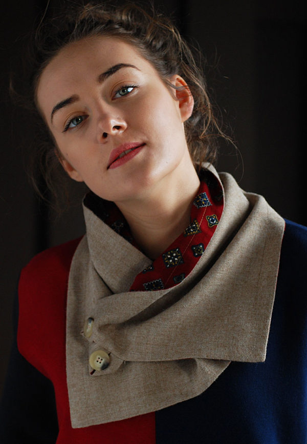 Snood-mocco+red-1